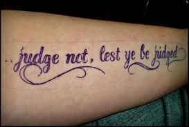 "The Generation of ""Judge Not Lest You Be Judged"""